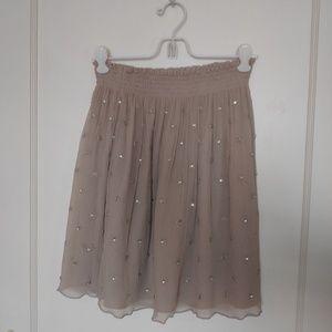 Club Mónaco silk skirt, size S